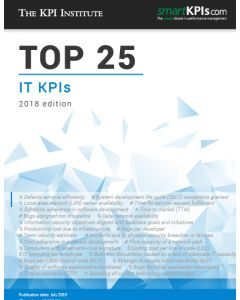 Top 25 IT KPIs – 2018 Edition