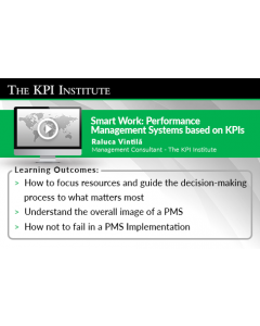 Smart Work Performance Management Systems based on KPIs