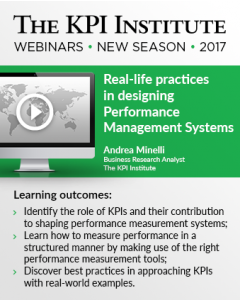 Real-life practices in designing Performance Management Systems
