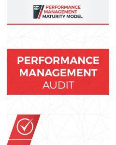 Performance Management Audit