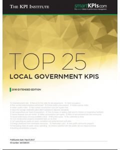 Top 25 Local Government KPIs – 2016 Extended Edition