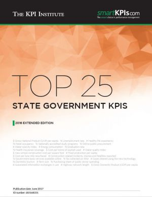 Top 25 State Government KPIs – 2016 Extended Edition