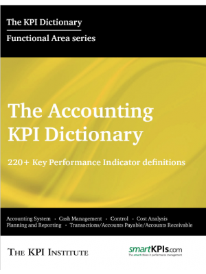 The Accounting KPI Dictionary