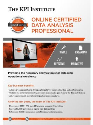 Certified Data Analysis Professional Online Course