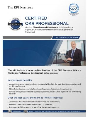 Live Online Certified OKR Professional