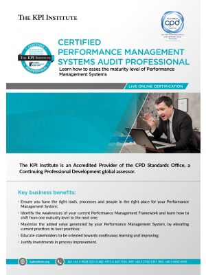 Live Online Certified Performance Management Systems Audit Professional