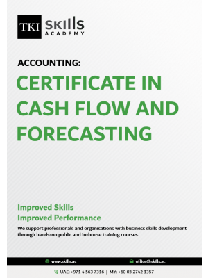 Certificate in Cash Flow and Forecasting