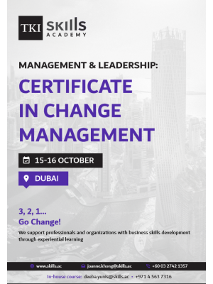 Certificate in Change Management