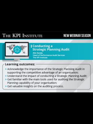 Conducting a Strategic Planning Audit