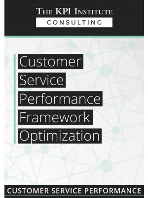 Customer Service Performance Framework Optimization