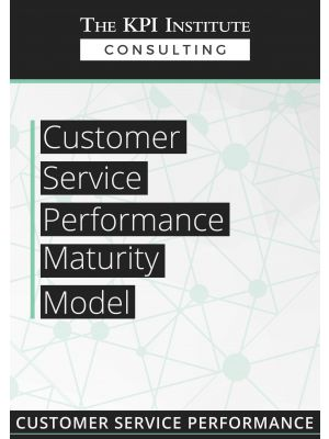 Customer Service Performance Maturity Model