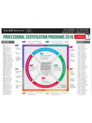 Professional Certification Programs Infographic