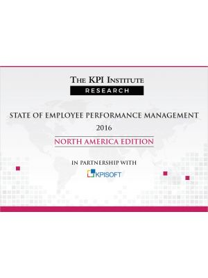 State of Employee Performance Management 2016 North America Edition