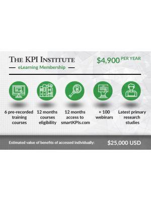 The KPI Institute elearning Membership