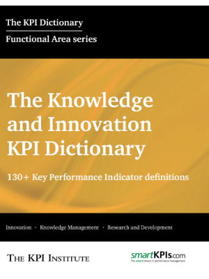 The Knowledge and Innovation KPI Dictionary