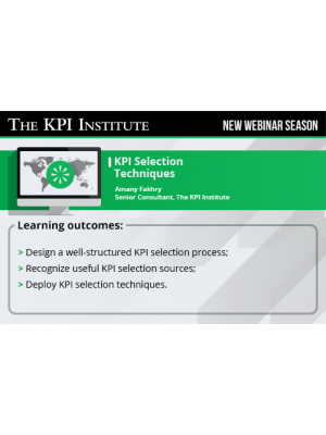 KPI Selection techniques 2016 Global Edition