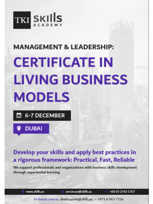 Certificate in Living Business Models