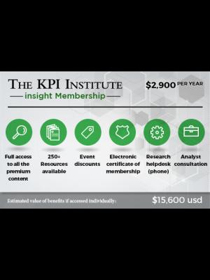 The KPI Institute insight Membership