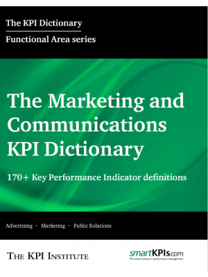 The Marketing and Communications KPI Dictionary