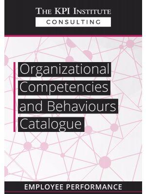 Organizational Competencies and Behaviours Catalogue