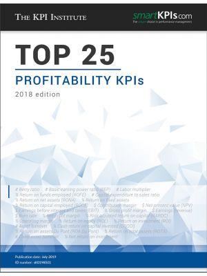 Top 25 Profitability KPIs – 2018 Edition