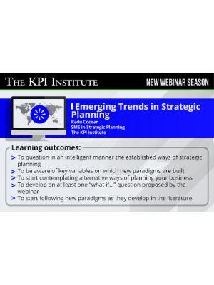 Emerging Trends in Strategic Planning