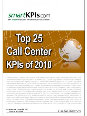 Top 25 Call Center KPIs of 2010