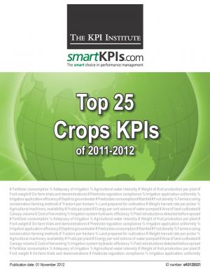 Top 25 Crops KPIs of 2011-2012