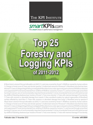 Top 25 Forestry and Logging KPIs of 2011-2012