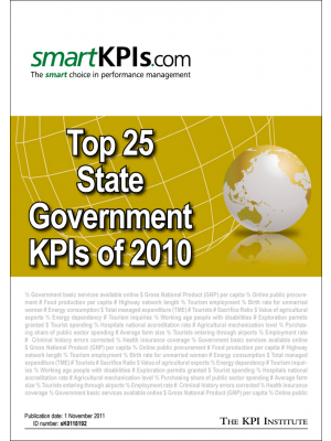 Top 25 State Government KPIs of 2010