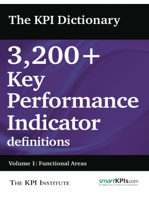 The KPI Dictionary Volume I: Functional Areas