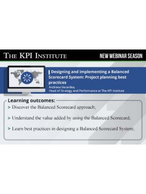 Designing and implementing a Balanced Scorecard System: Project planning best practices